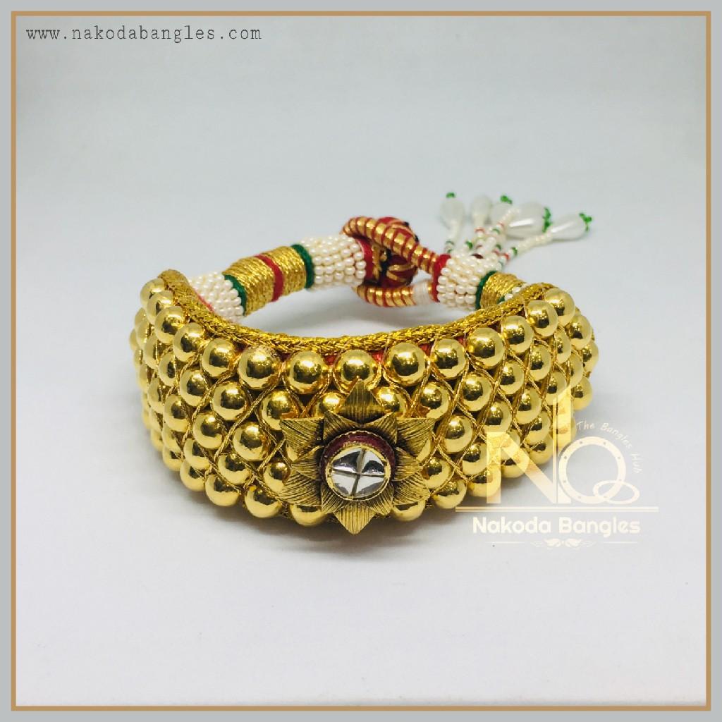 916 Gold Antique Bajubandh NB-357