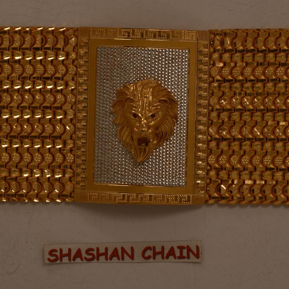 22KT hallmarked fancy bahubali Bracelet