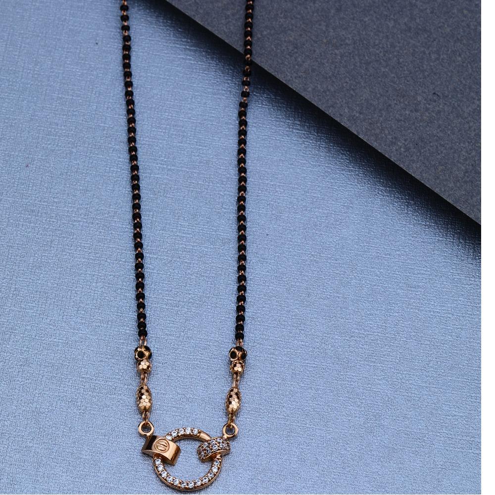 18KT Rose Gold Daily wear Mangalsutra