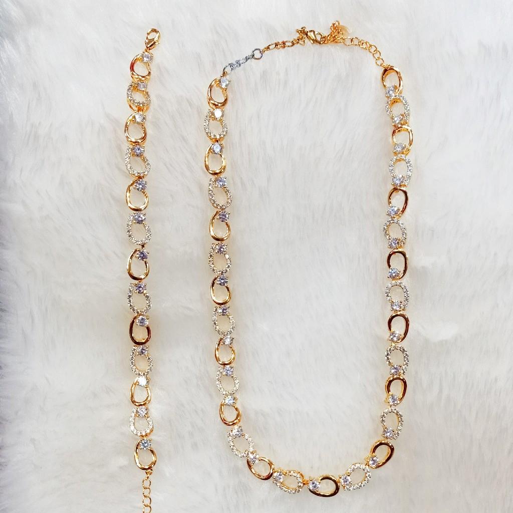 Dimond chain bracelet