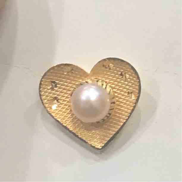 916 gold fancy pearl tops