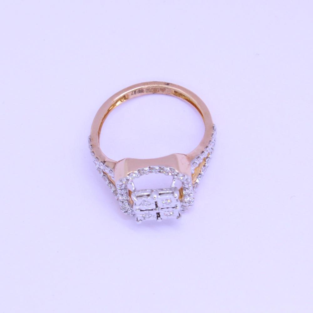 18K gold diamond ring agj-lr-294