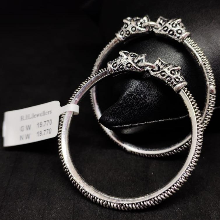 silver fancy baccha kada RH-BK619