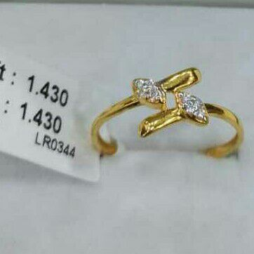 Cz  916 ladies ring