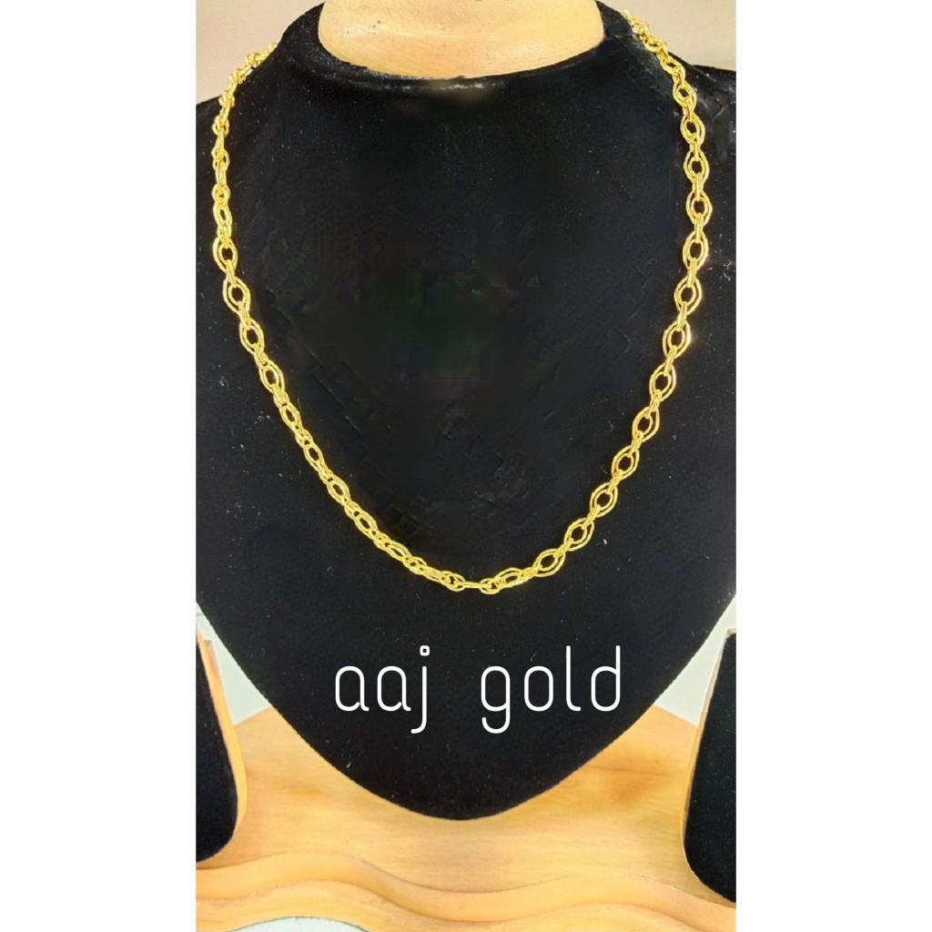 22 kt gold fancy men's chain