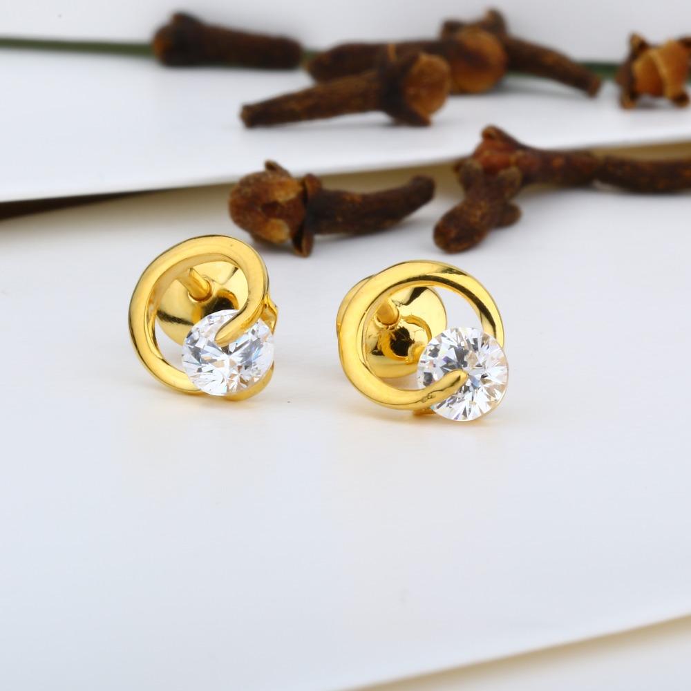 916 Gold Designer Swarovski Tops JJ-E012
