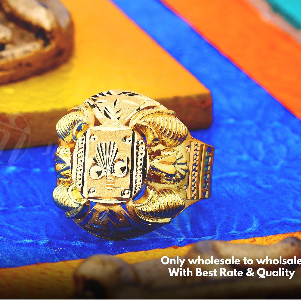 916 Nazaran Gold Ring JAR-001