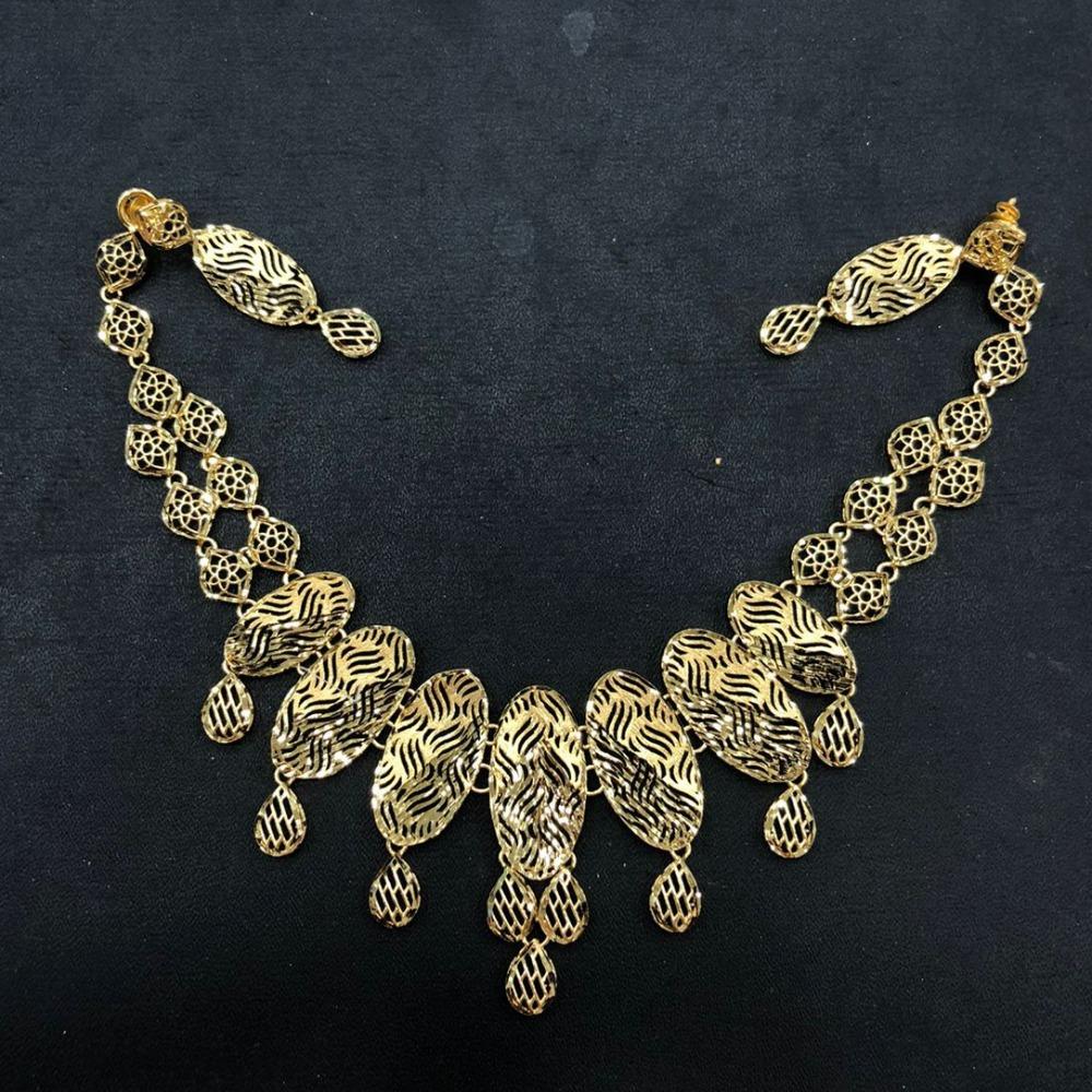 916 Gold Designer Necklace