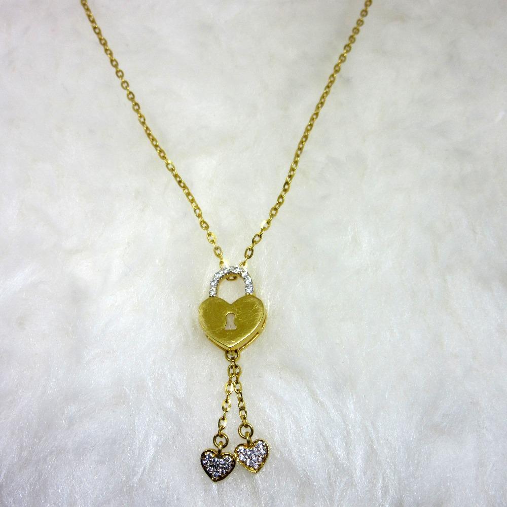 Gold heart lock dokiya