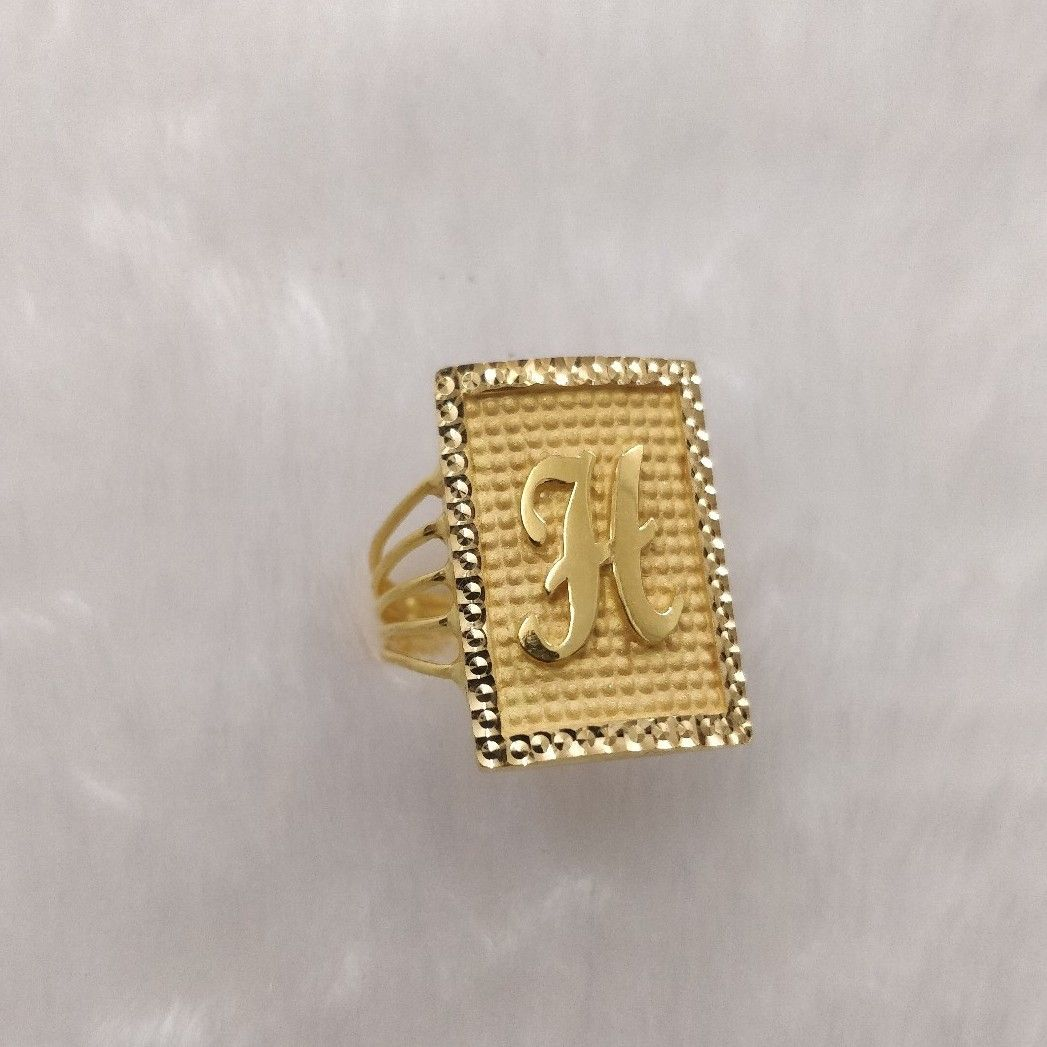916 Gold Gent's Ring