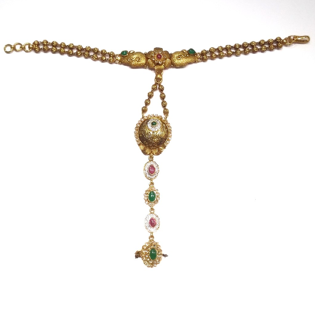 22k gold antique pocho mga - gp001