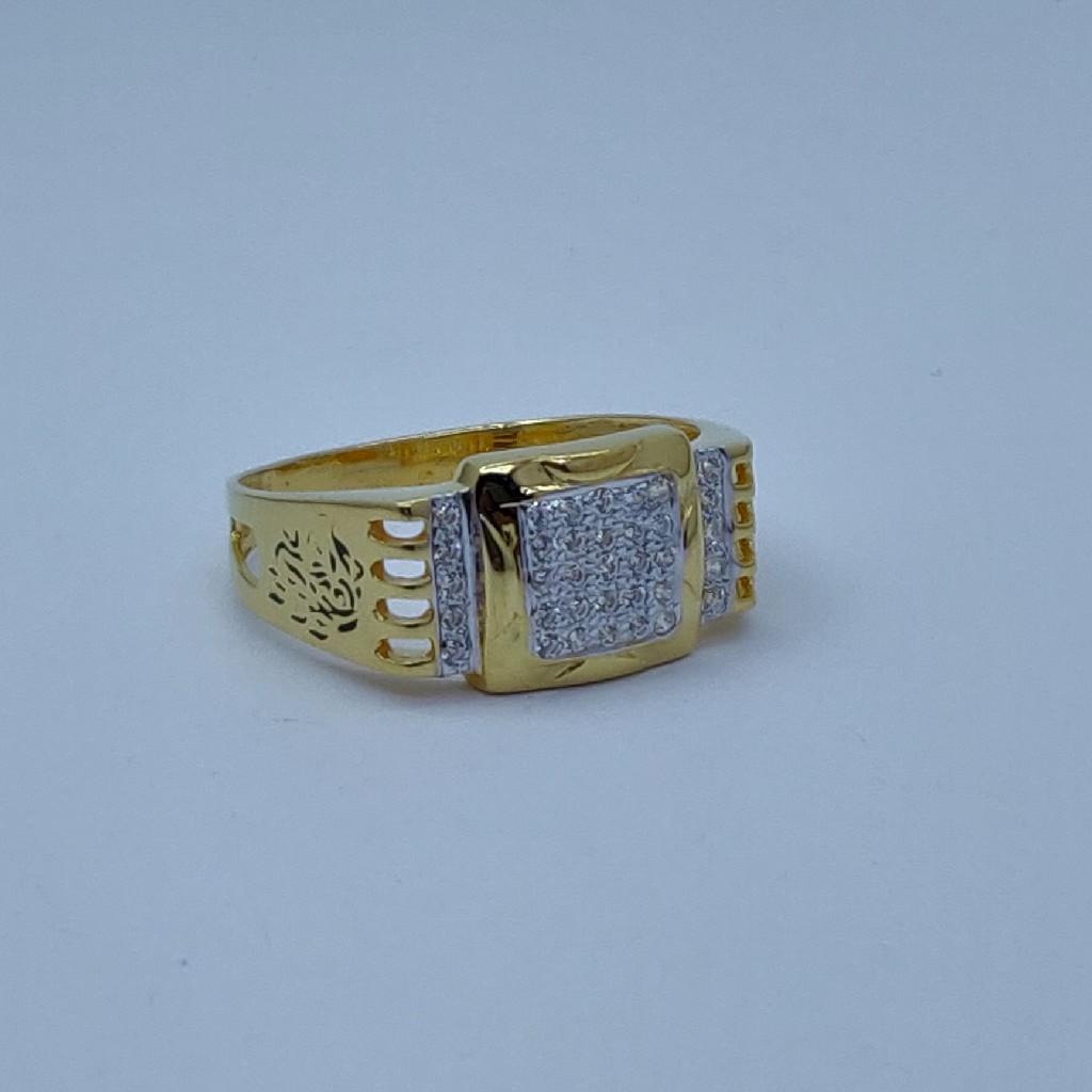 22k Gold light weight ring for men