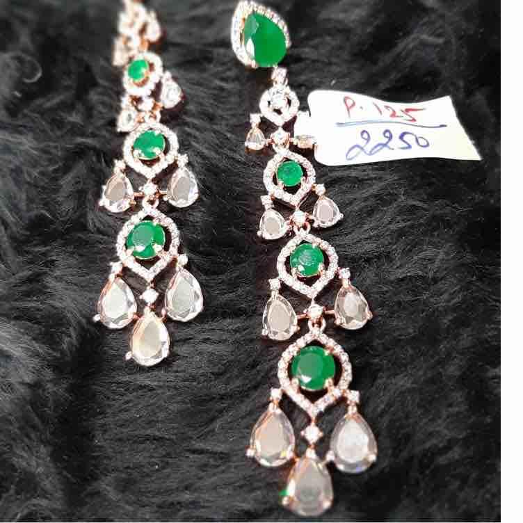 Fancy Diamond earrings P-125