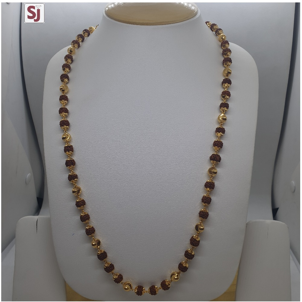 Rudraksh Mala RMG-0044 Gross Weight-26.310 Net Weight-20.580