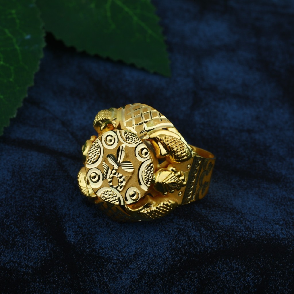 plain gold rings (vinti)