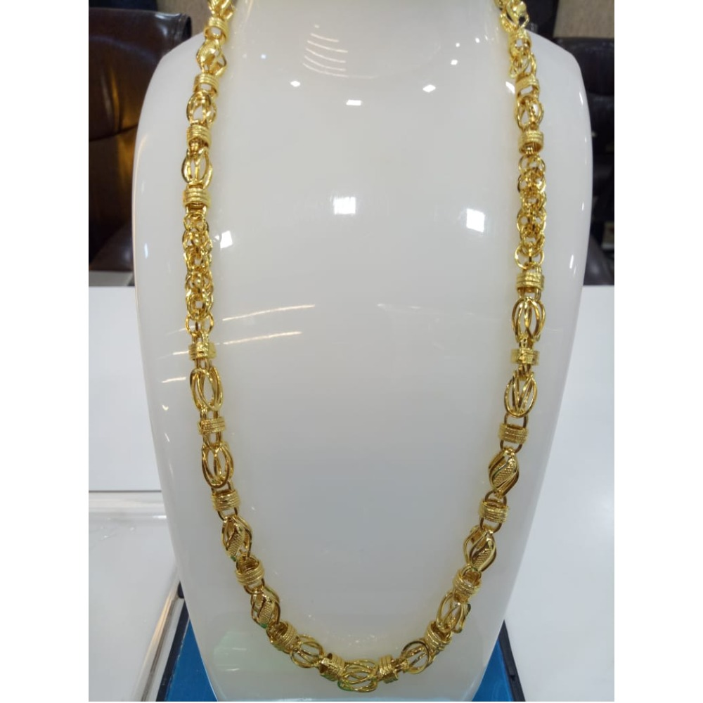 916 Gold Designer Chain For Men SVJ-C001