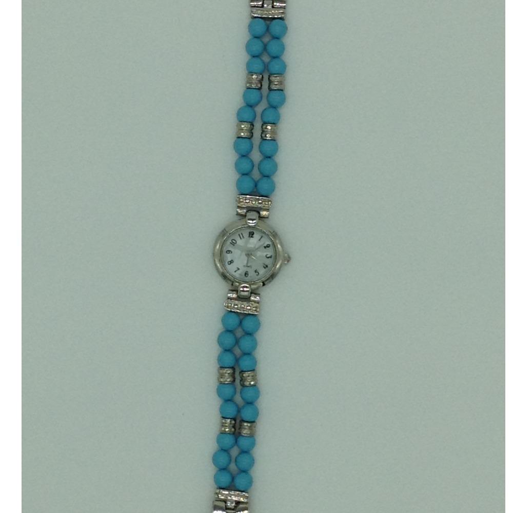 Turquoise Round 2 LayersDesigner WatchJBG0253