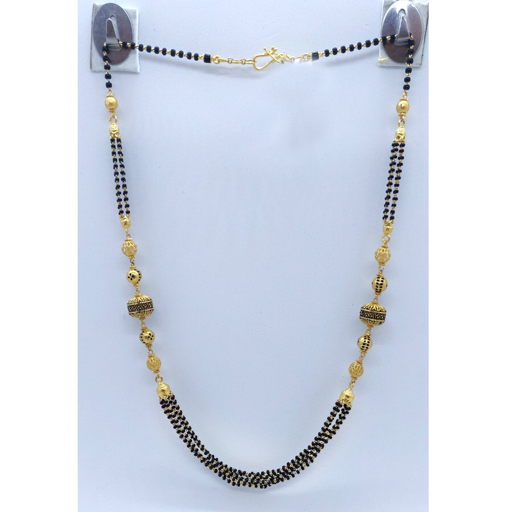 916 gold Fancy Mangalsutra PJ-M001