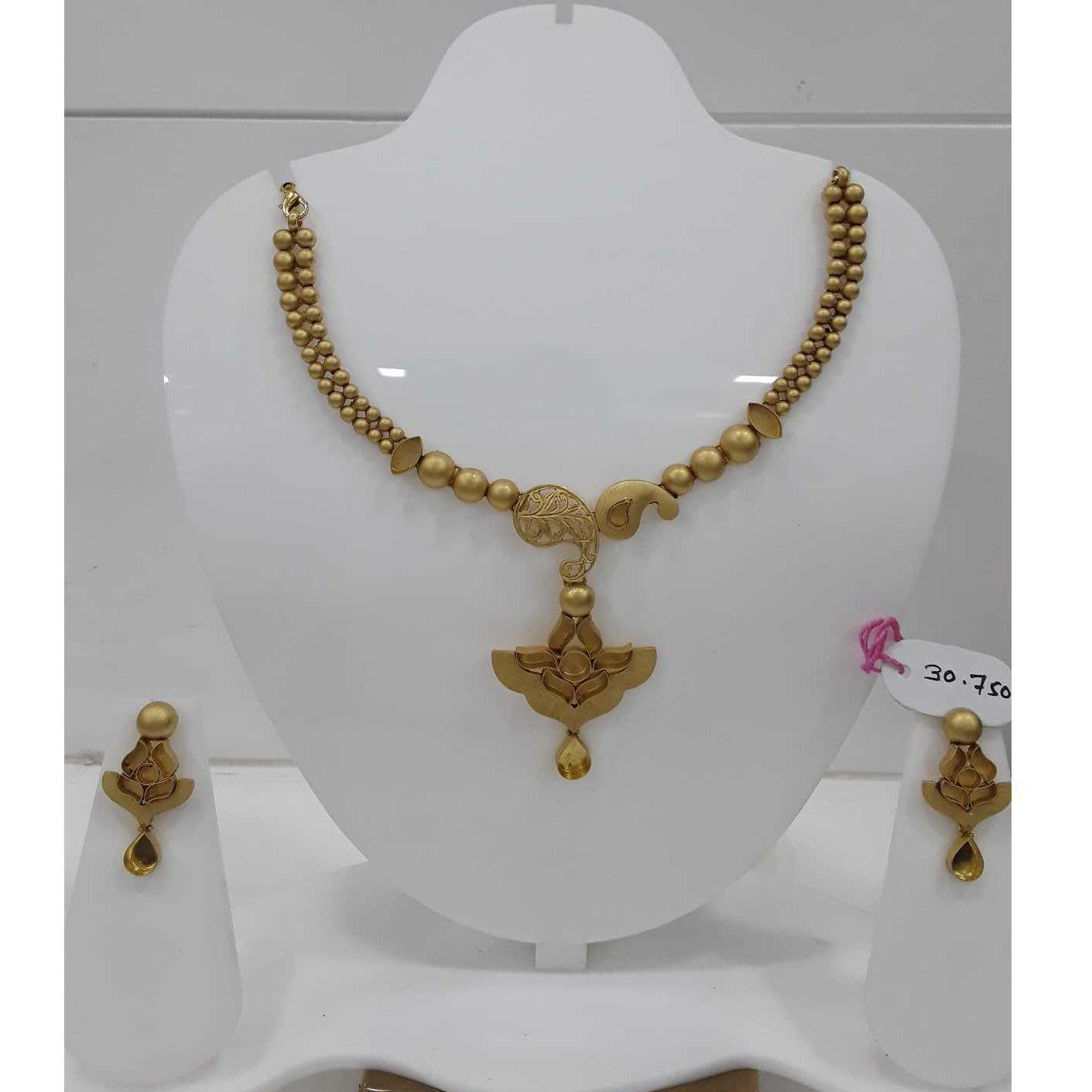 916 Antique Gold Jadtar Khokha