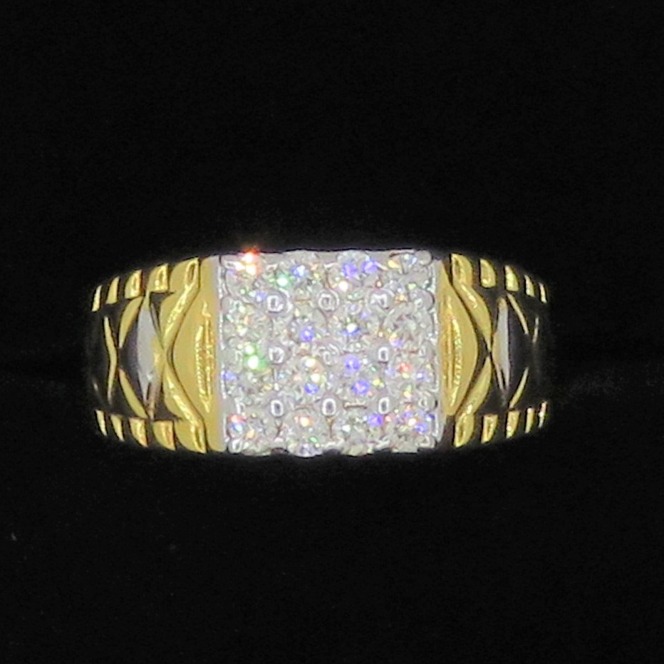 Gold Diamond Fancy rings KJ-07