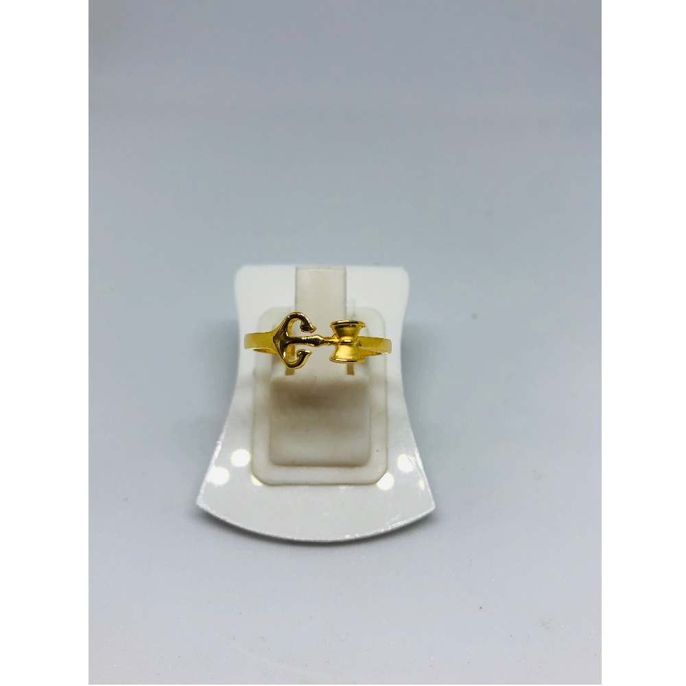916 Gold Attractive Ladies Ring For Men KDJ-R014