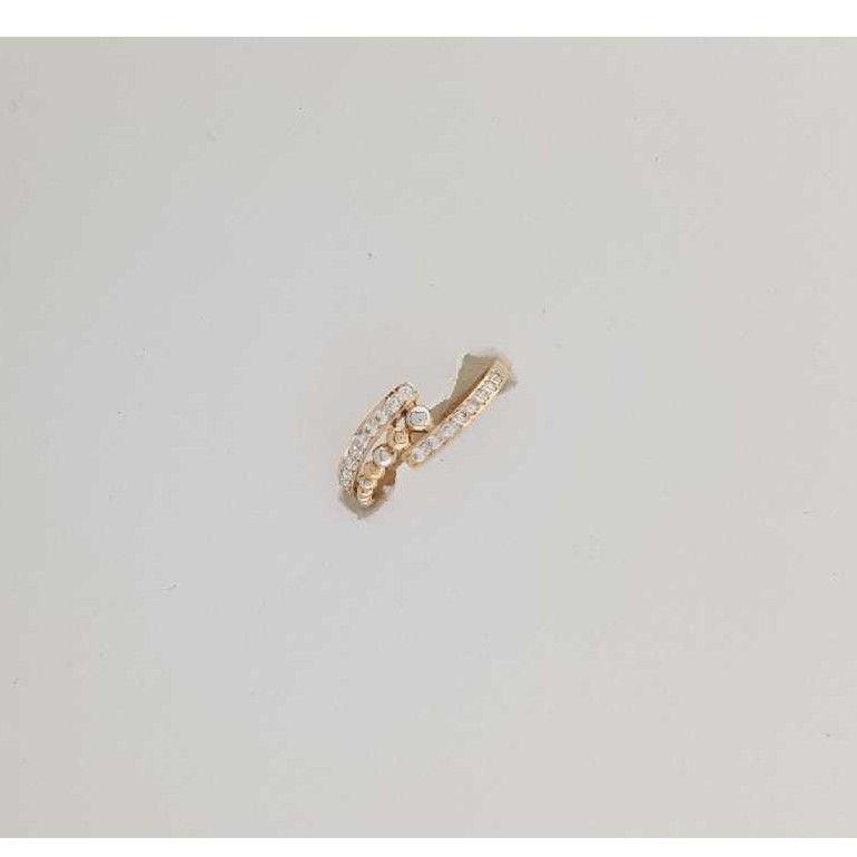 18KT Rose Gold Studded Ring