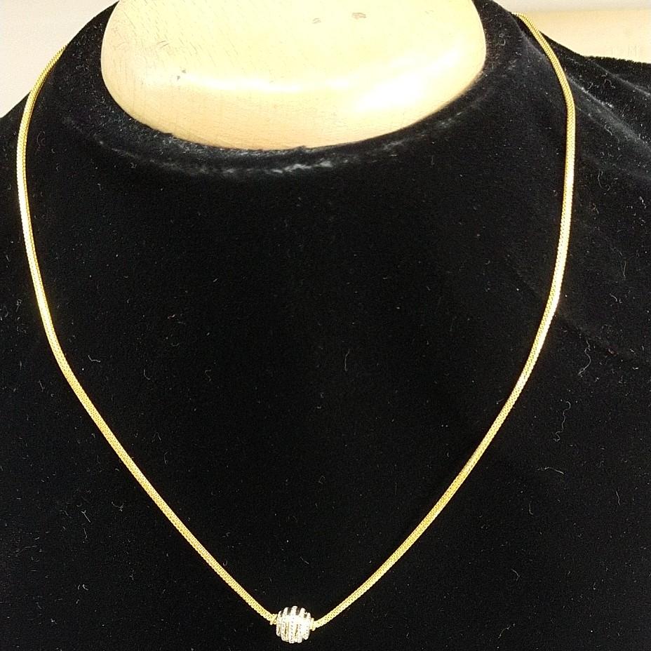 22 kt gold fancy trending pattern chain