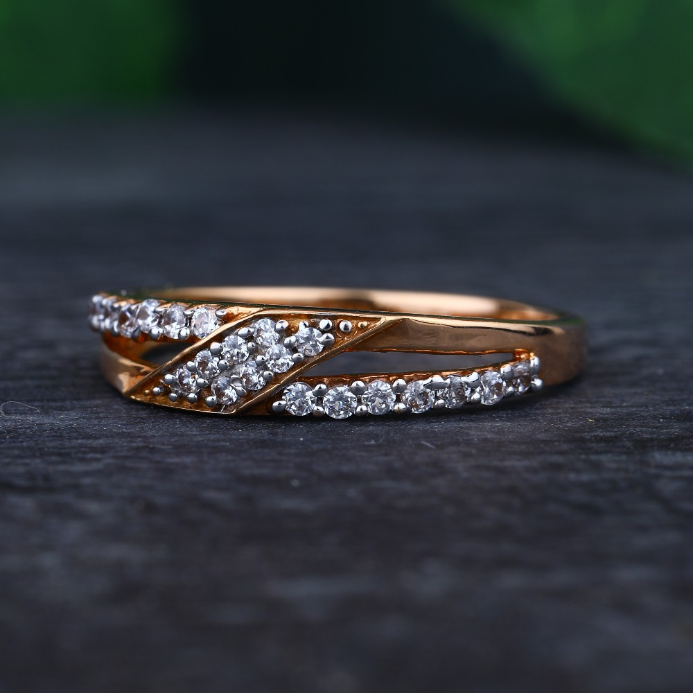 916 gold hallmark Delicate ring
