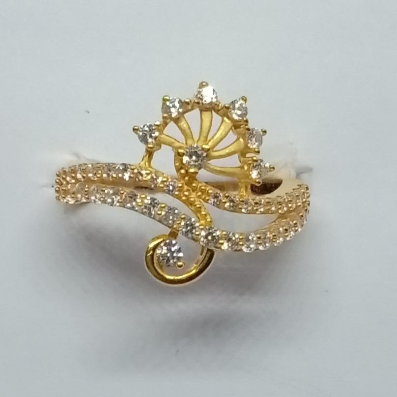 916 Gold Ladies Ring  LJ-11