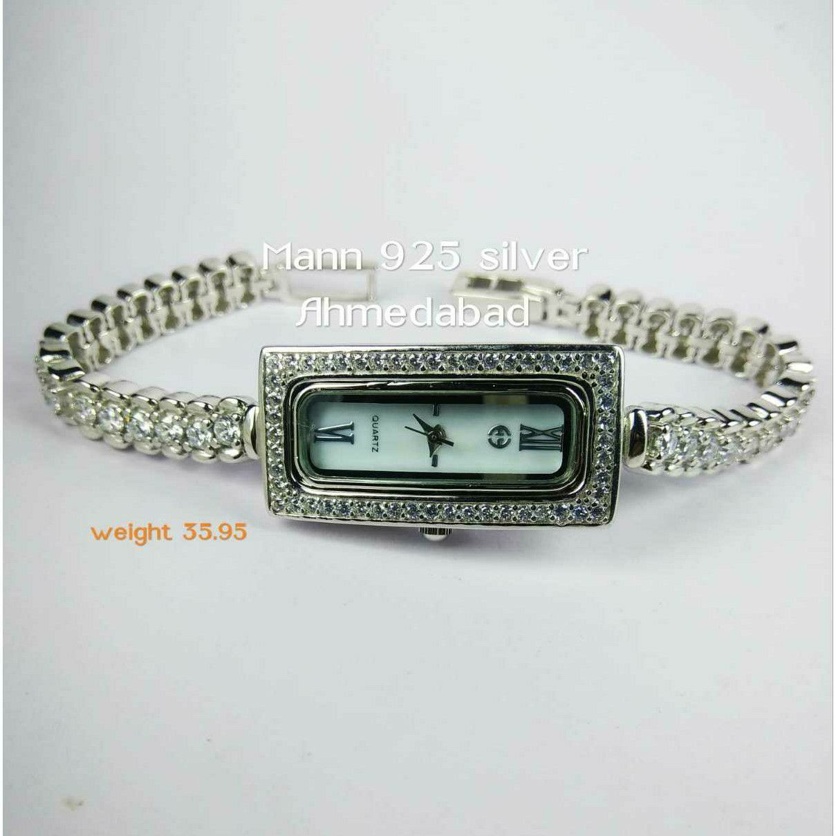 New 925 Silver Ladies Watch