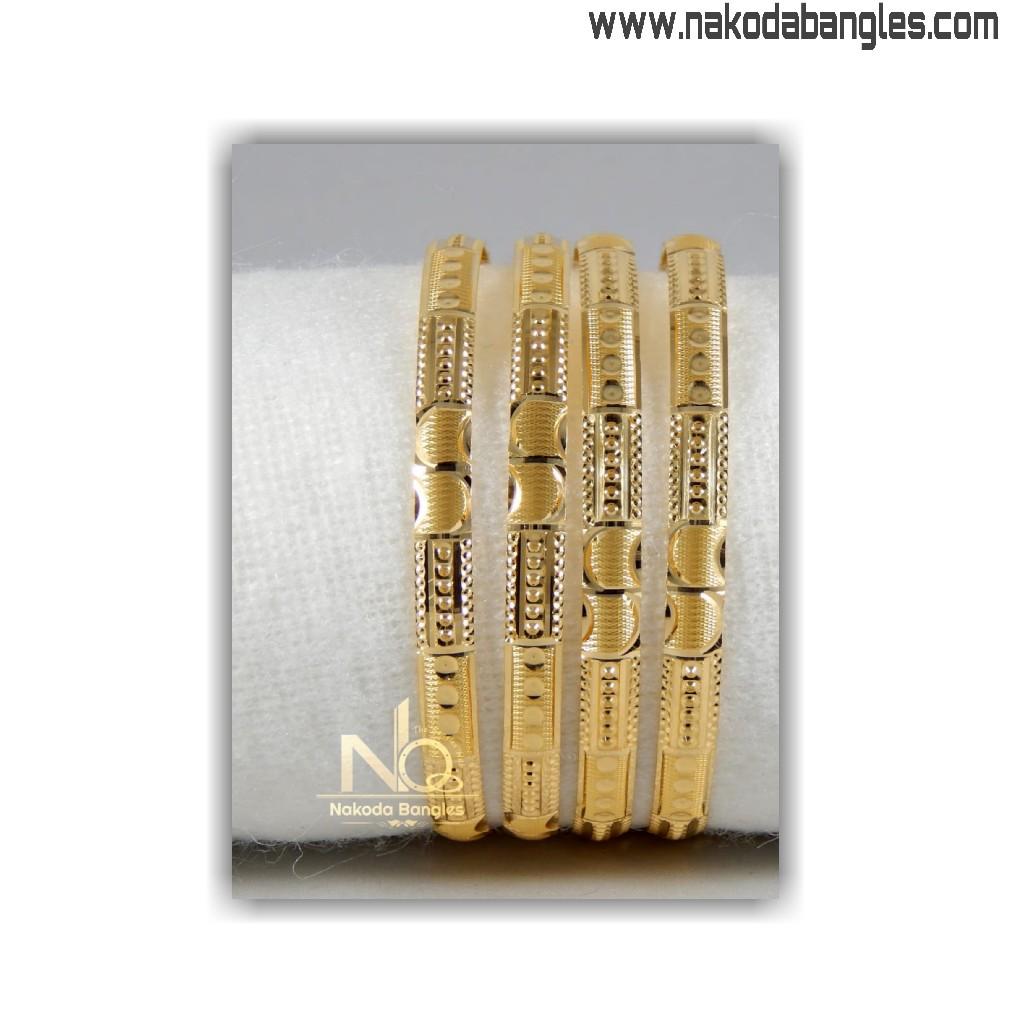 916 gold khilla bangles nb - 1410