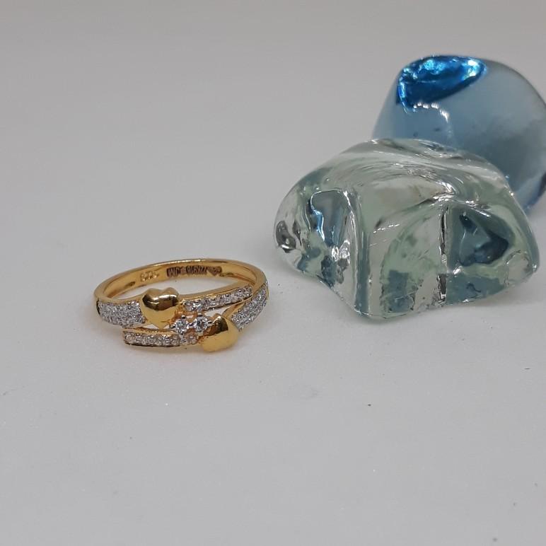 22ct Fancy Diamond Ring VT/703/7