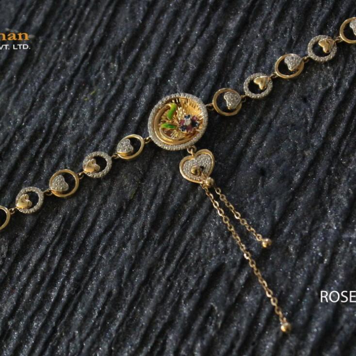18kt adi ladies bracelet