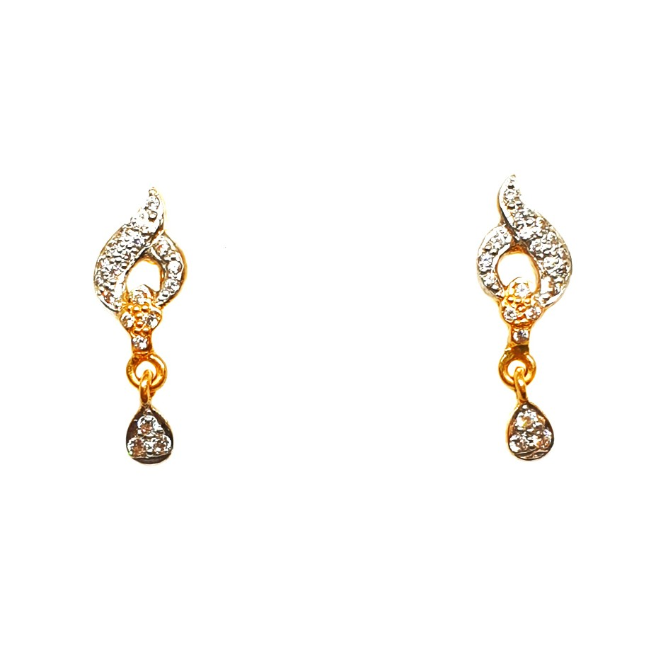 22K Gold Fancy Earrings MGA - BTG0315