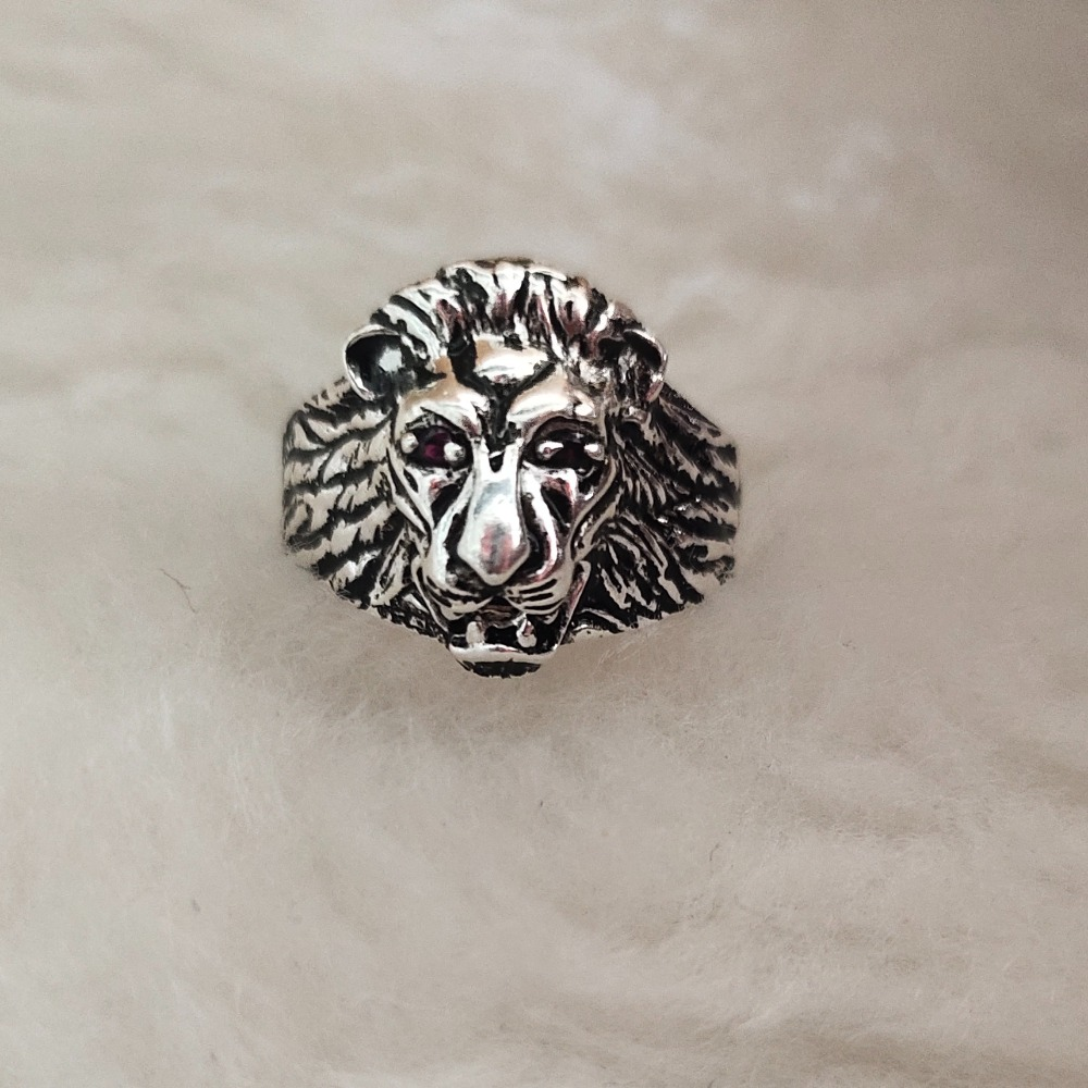 92.5 sterling silver gents ring