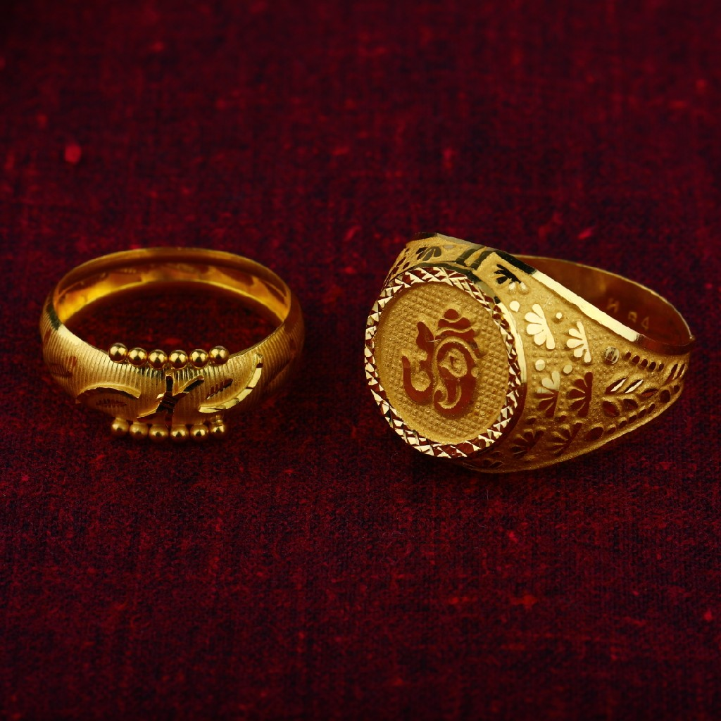 plain gold rings