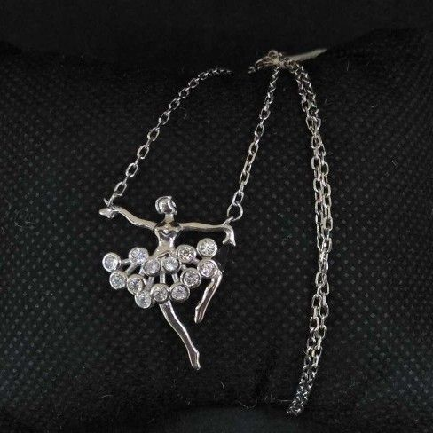 925 Sterling Silver Angele Designed Pendant Chain