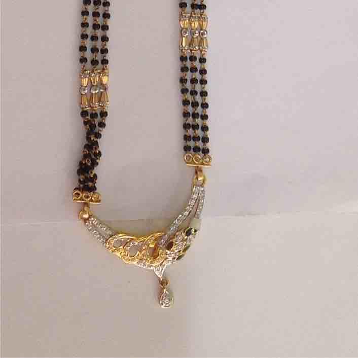 916 Gold Designer Mangalsutra