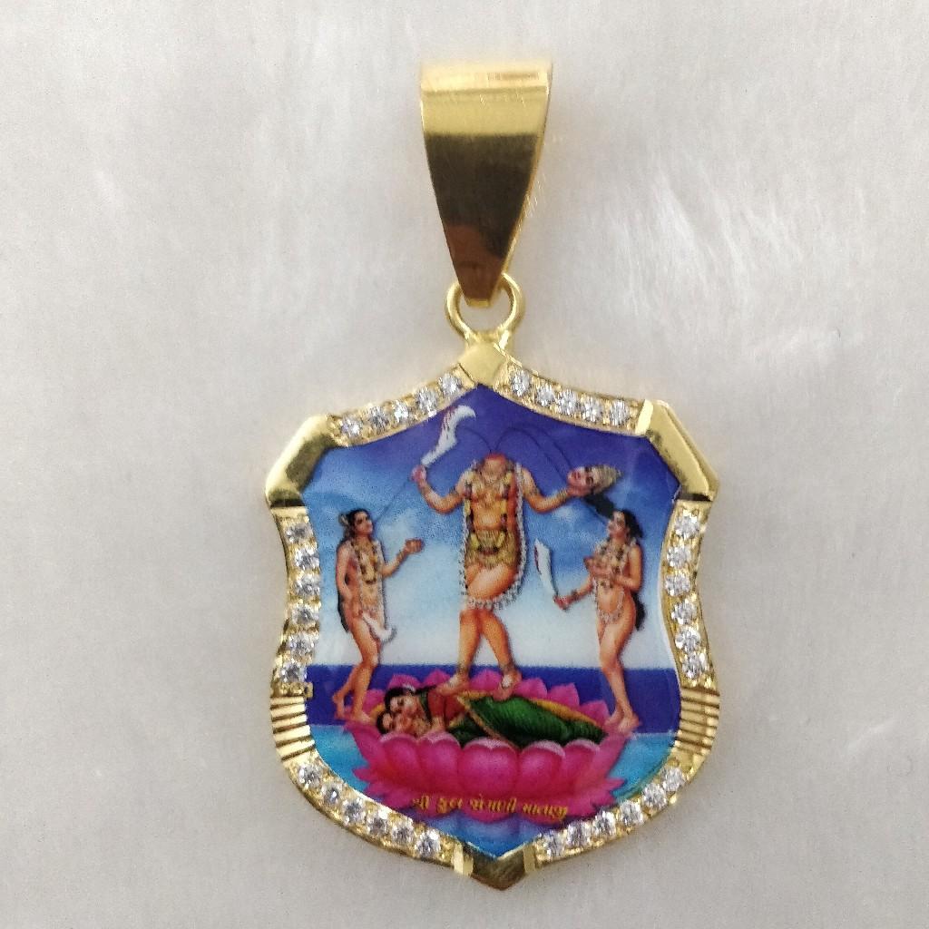 916 Gold Fuljogani Maa Photo mina Pendant