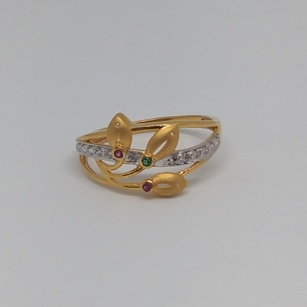 22kt 916 gold delicate ring
