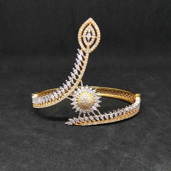 Rose polish designed 1gram ladies bracelet