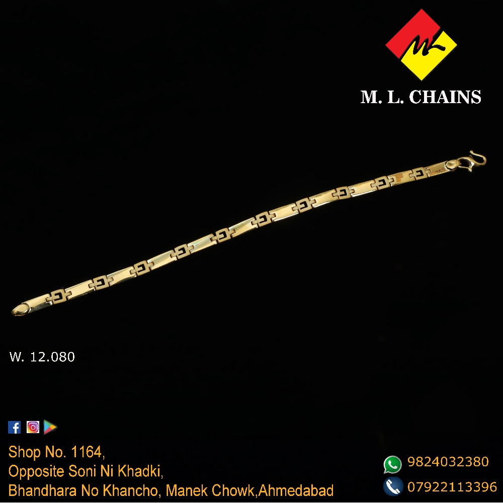 916 Gold Fancy Bracelet ML-B09