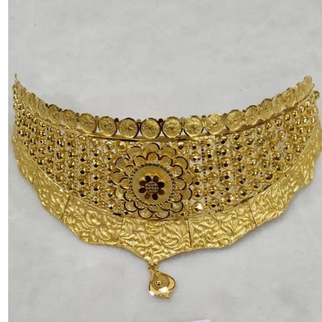 916 gold bridal set