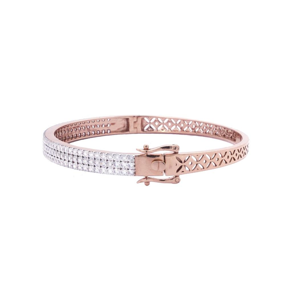 22K Rose gold Bracelet For Women