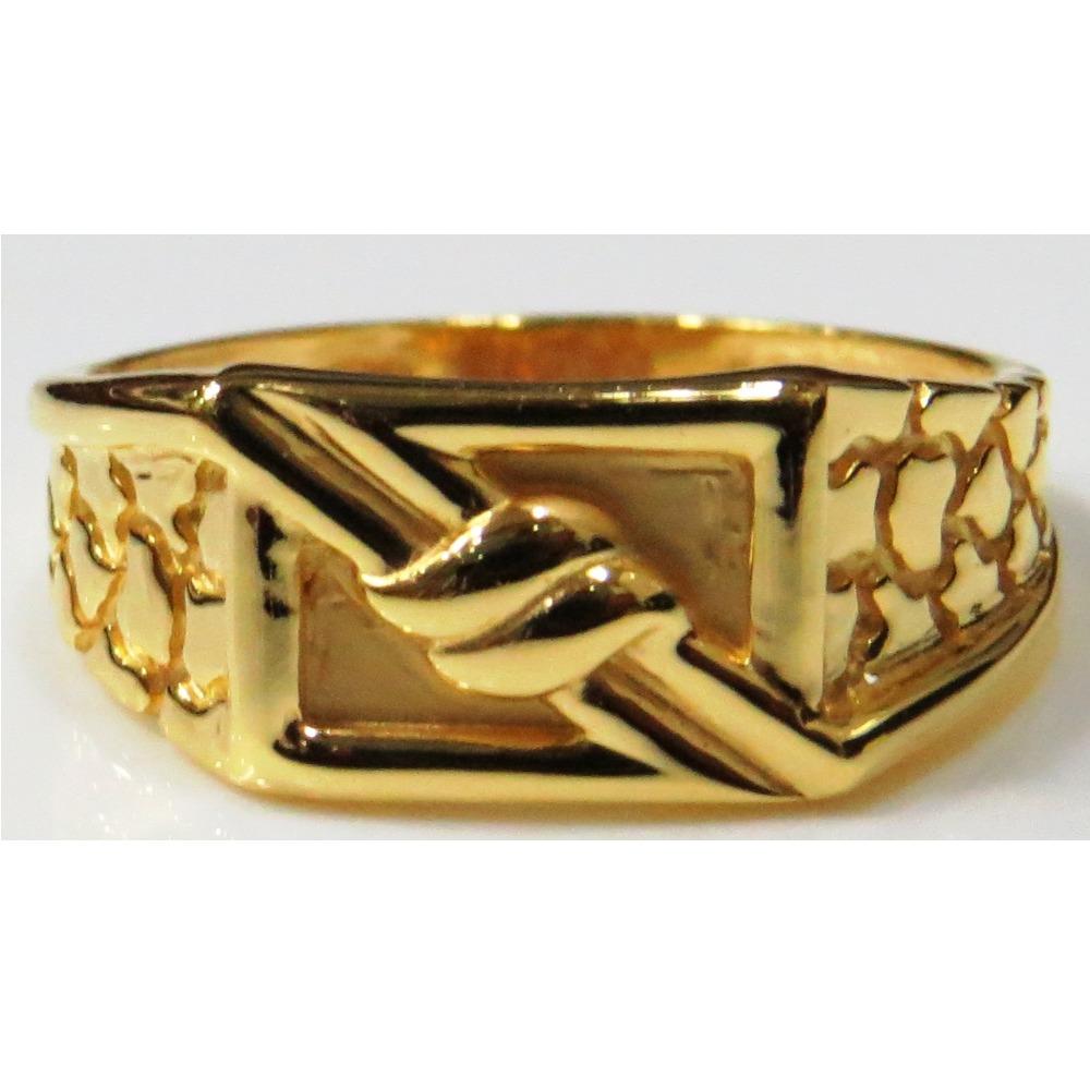 22kt Gold Plain Casting classic Gents Ring