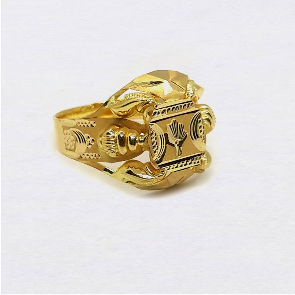 Fancy Design Nazrana Gold Ring