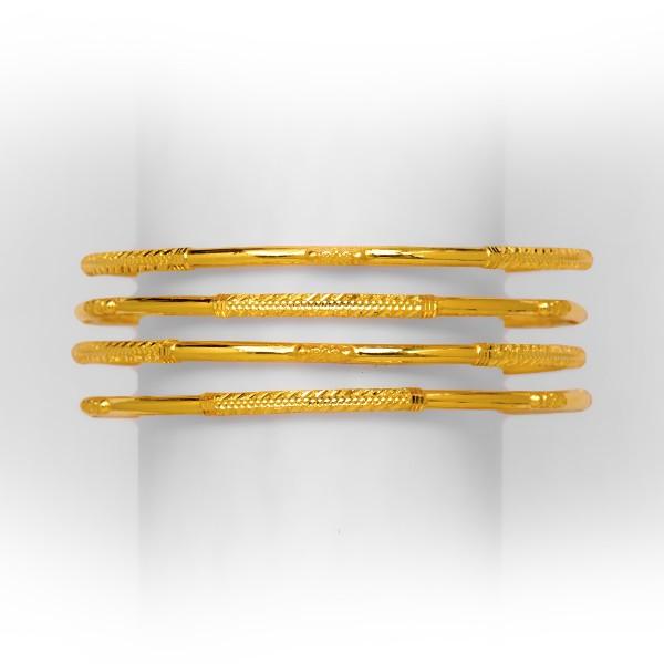 GRACEFUL DESIGNED 4 PIPE GOLD COPPER KADLI