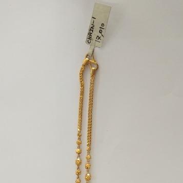 916 Gold hallmarked chain OR3425
