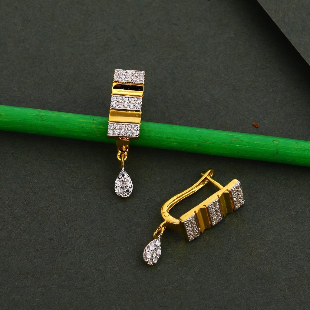 750 Gold Ladies Designer Bali LFB105