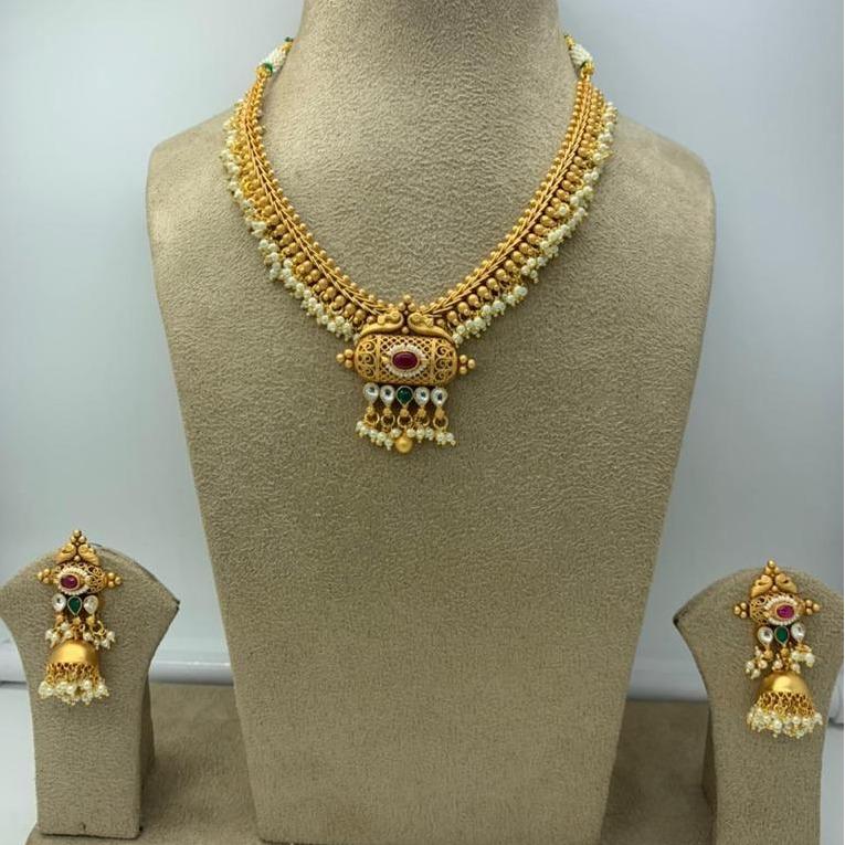 Artificial Necklace Set For Bridal